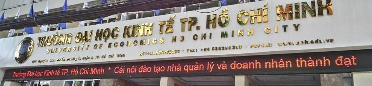 Đại học Kinh tế Thành phố Hồ Chí Minh - University of Economics Ho Chi Minh City (UEH)
