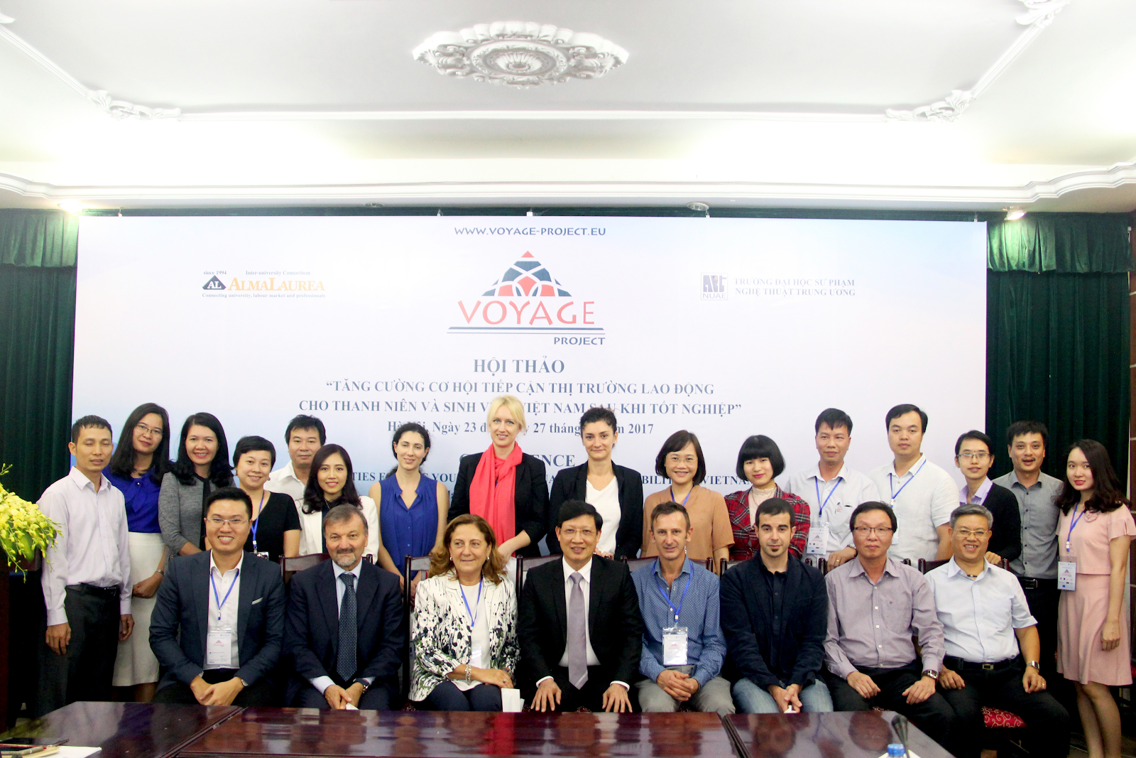 """Hội thảo khoa học quốc tế: """"Tăng cường cơ hội tiếp cận thị trường lao động cho sinh viên"""