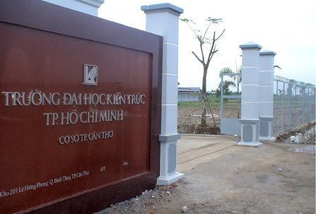 Đại học Kiến trúc Tp. HCM cơ sở Cần Thơ