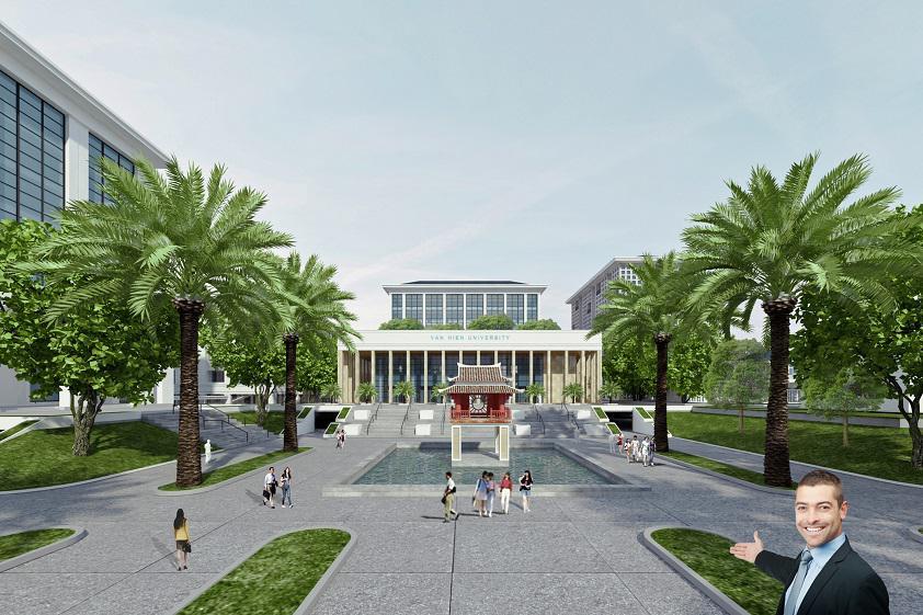 Cơ sở mới ĐH Văn Hiến
