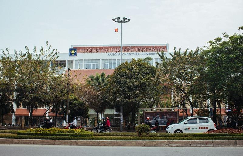 Tổng quan trường Đại học Kiến trúc Hà Nội