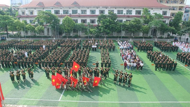 Lễ khai giảng năm học mới tại học viện