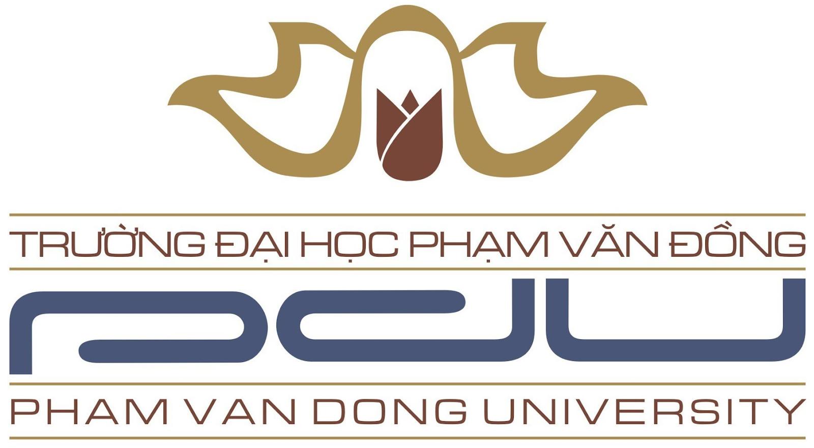 Logo Trường Đại học Phạm Văn Đồng