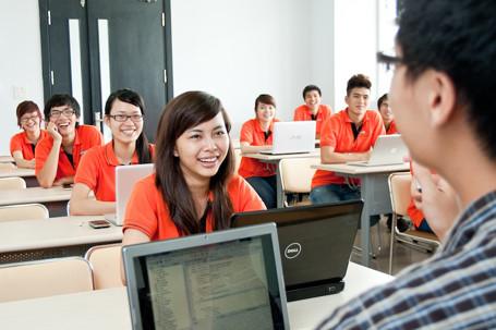 Một lớp học tại ĐH FPT