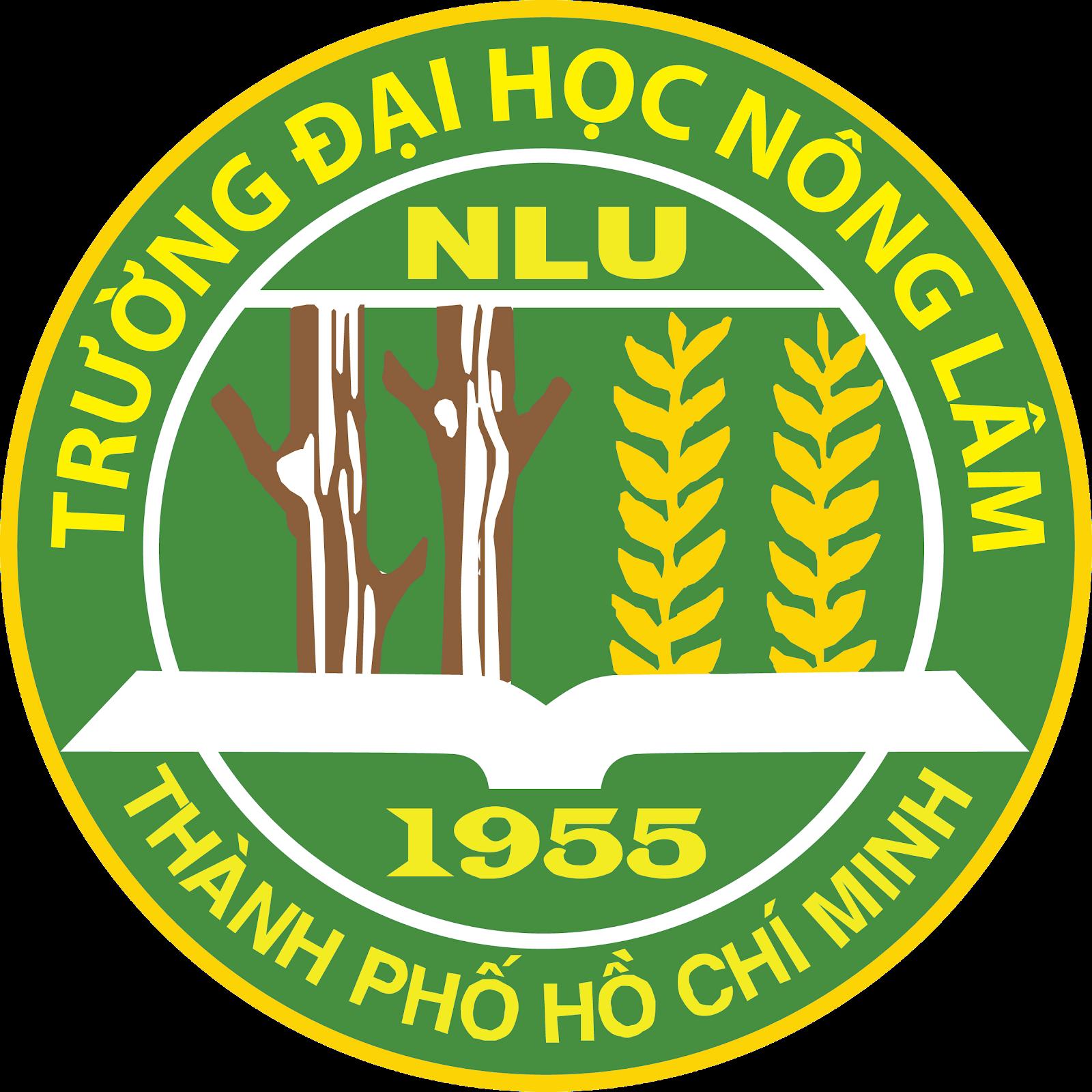 Logo Đại học Nông lâm Tp.HCM