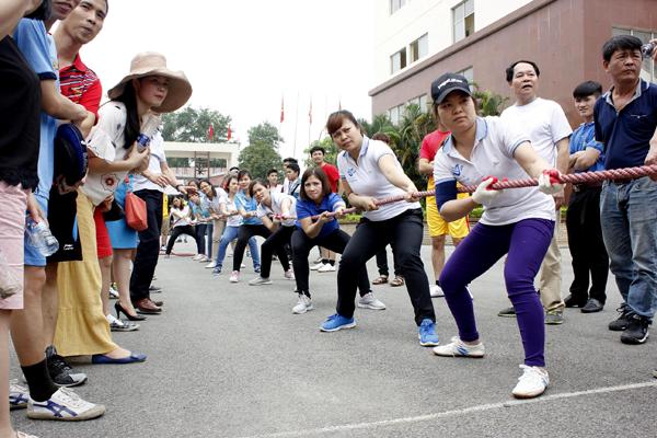 Hội thao chào mừng ngày thành lập đoàn thanh niên Cộng sản Hồ Chí Minh