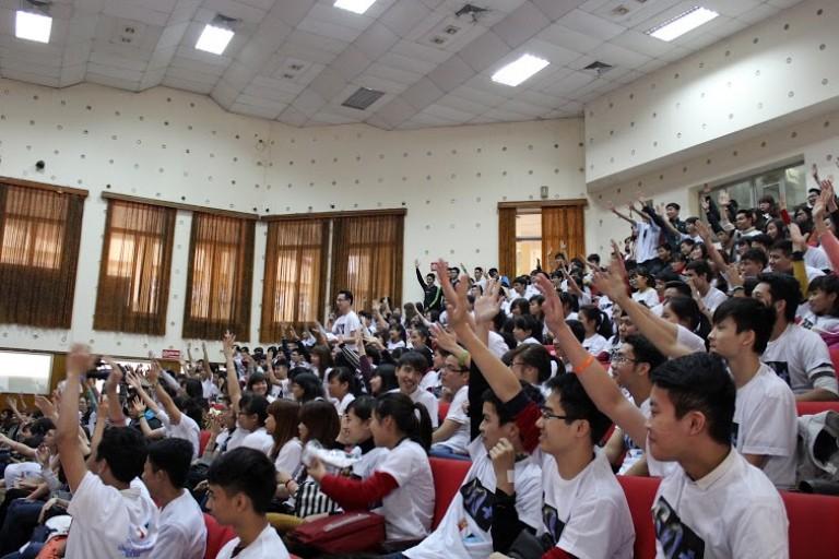 Sinh viên trường đại học Điện lực