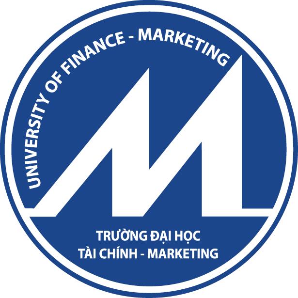 Logo đại học Tài chính Marketing