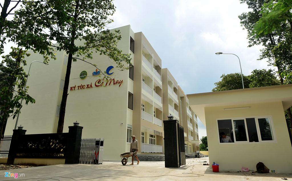 Ký túc xá Cỏ May của trường Đại học Nông lâm Tp.HCM