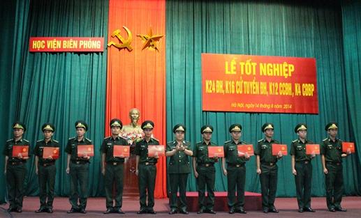 Học viện tổ chức lễ tốt nghiệp