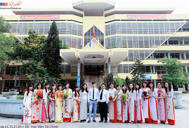 Cơ sở vật chất học viện tài chính