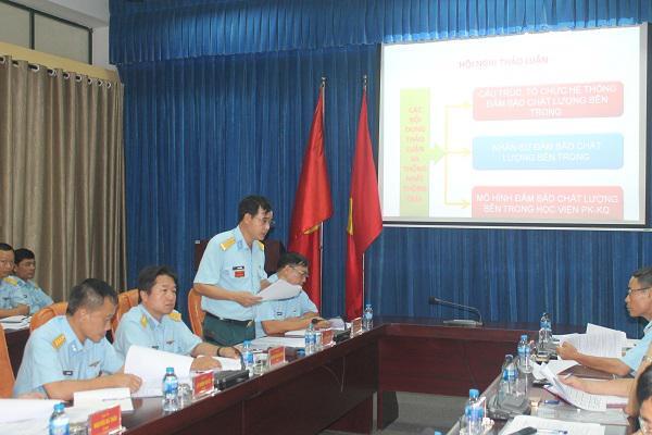 Hội nghị xây dựng hệ thống đảm bảo chất lượng bên trong