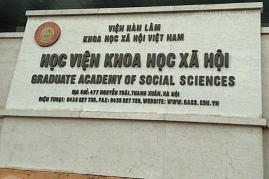 Học viện Khoa học xã hội
