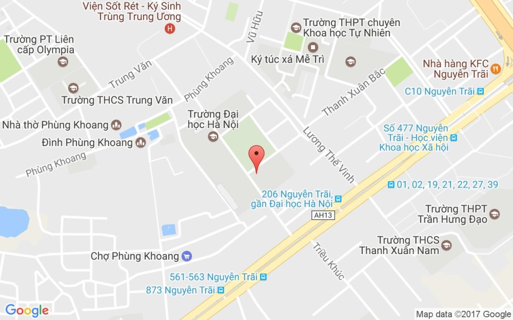 Đại học Hà Nội ở đâu???