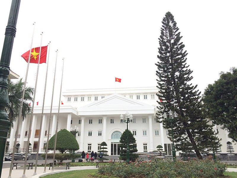 Tòa nhà trắng Đại học Hà Nội