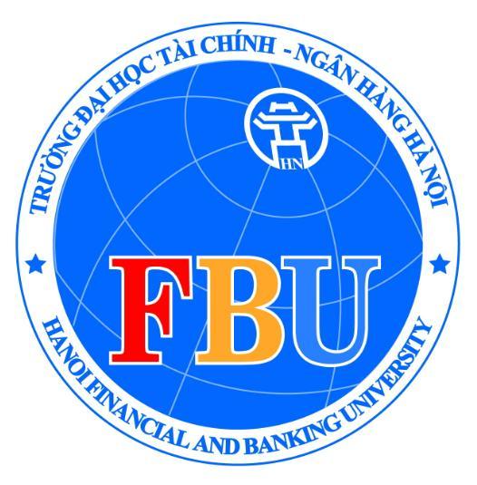 Logo trường Đại học Tài chính Ngân hàng Hà Nội