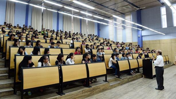 Hội trường nơi diễn ra các buổi hội thảo cho sinh viên