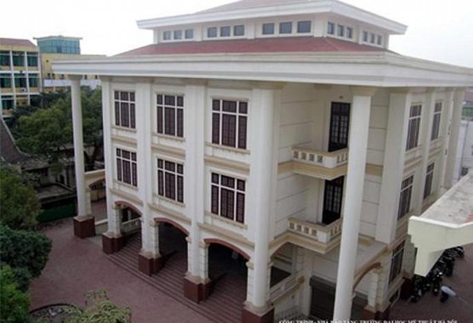 Khu giảng đường của trường