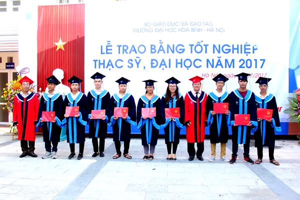 Lễ trao bằng tốt nghiệp, thạc sĩ