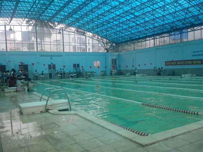 Bể bơi thông minh Học viện Tài chính