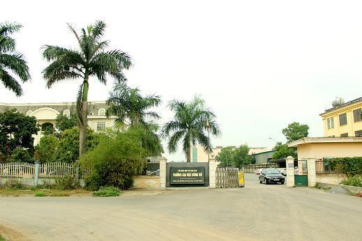 Một góc trường Đại học Dân lập Đông Đô