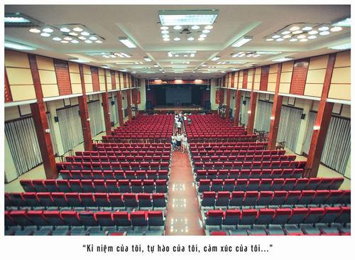 Hội trường lớn Học viện Báo chí và Tuyên truyền
