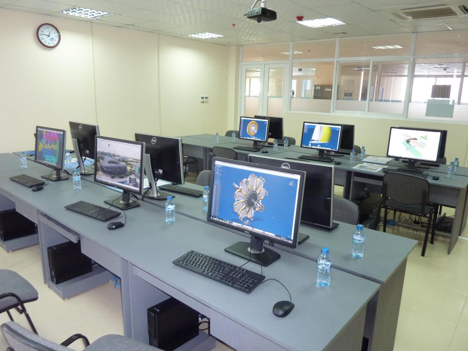 Phòng LAB của trung tâm PLMCC trường USTH