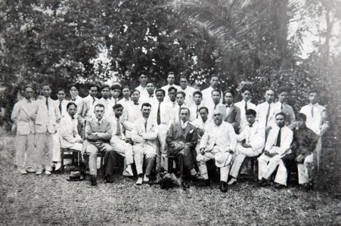 Giảng viên và sinh viên Trường Mỹ thuật Đông Dương, thập niên 30, thế kỷ XX