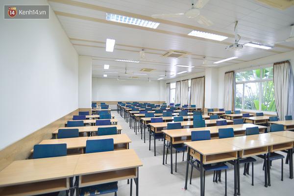 Phòng học tại Đại học Thăng Long