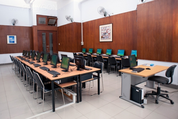 Phòng tin học của trường