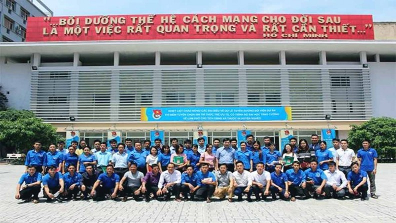 Đoàn thanh niên Học viện thanh thiếu niên Việt Nam