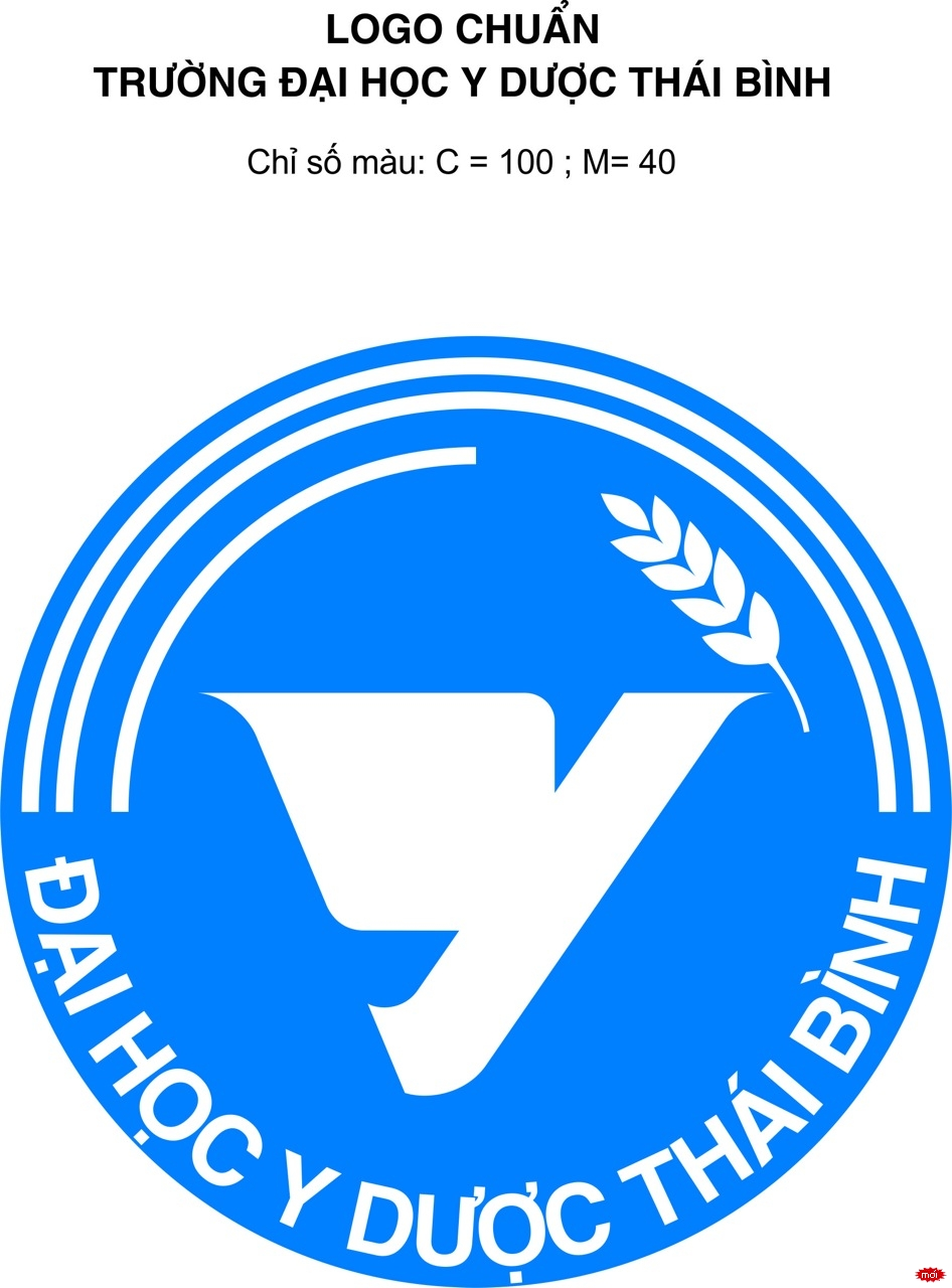 Logo Trường đại học Y dược thái bình