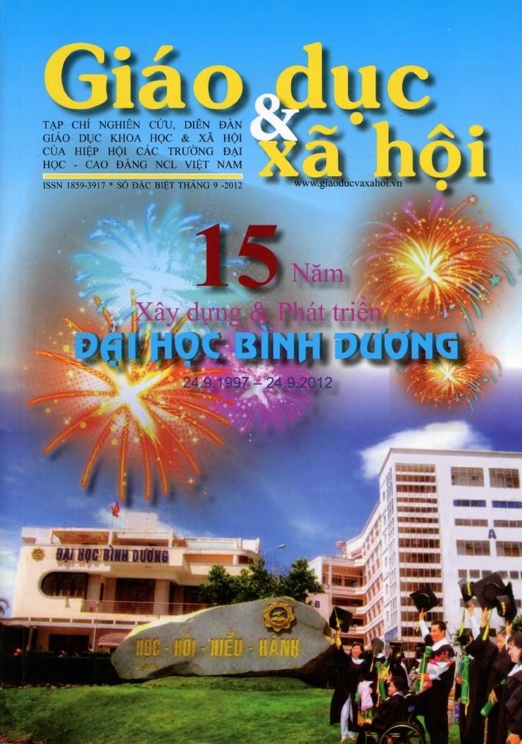 Tạp chí kỷ niệm 15 năm thành lập trường